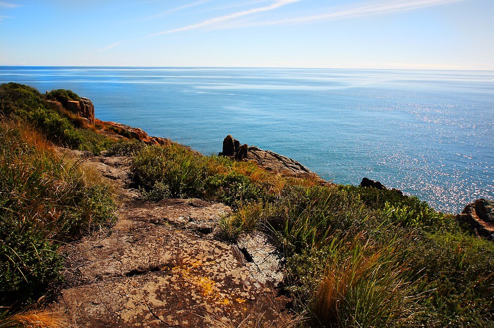 Beautiful Tasmania - Sparkling waters and colourful coast by georgieboy98