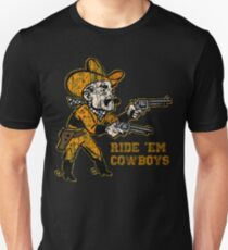Pistol Pete Ride 'Em Cowboys T-Shirt