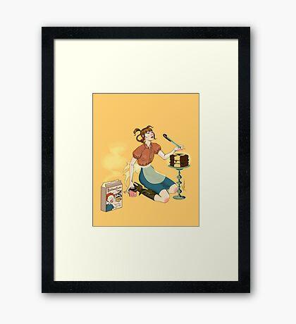 Yellowcake Framed Print