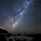 Starry Starry Night - Flinders, Victoria, Australia by Sean Farrow