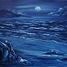 Blue moon rising by Susie Hawkins