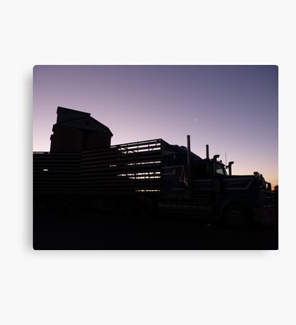Parked for the night Canvas Print