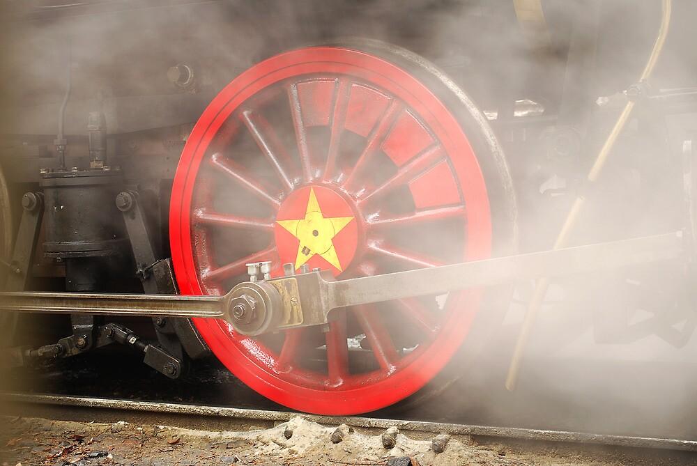 Steam Wheel by Pschtyckque