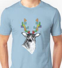 Tetris Deer Unisex T-Shirt