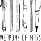 Weapons Of Mass Creation by Bianca Green