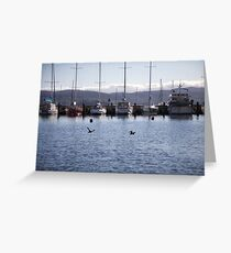 seascapes #283, moored Greeting Card