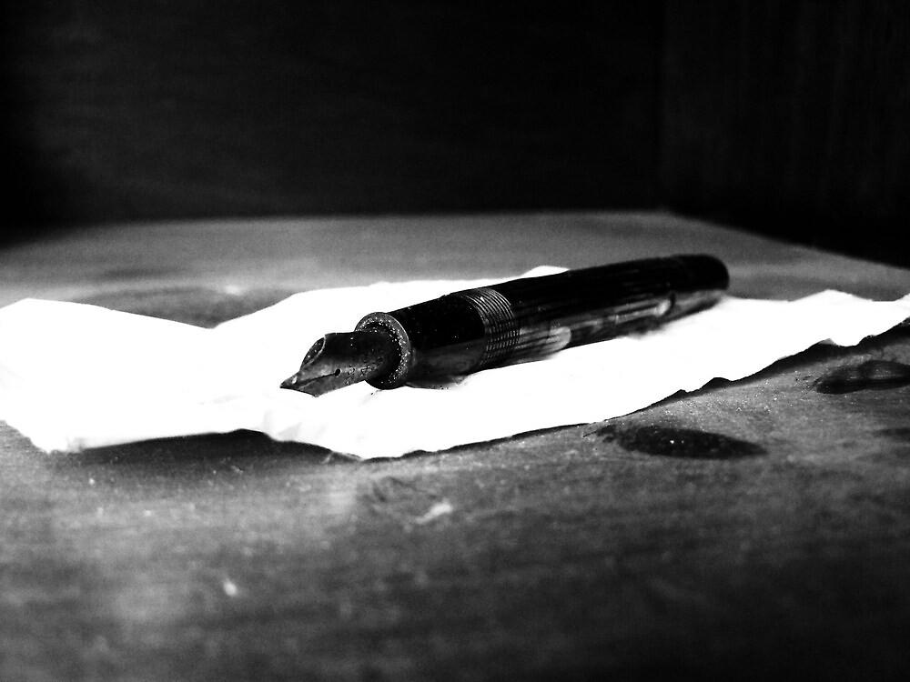 Artist's Pen by Brittney Kelk