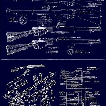 MyGuns Lee-Enfield Blueprint-large by NemesisGear