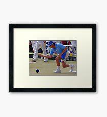 M.B.A. Bowler no. b066 Framed Print
