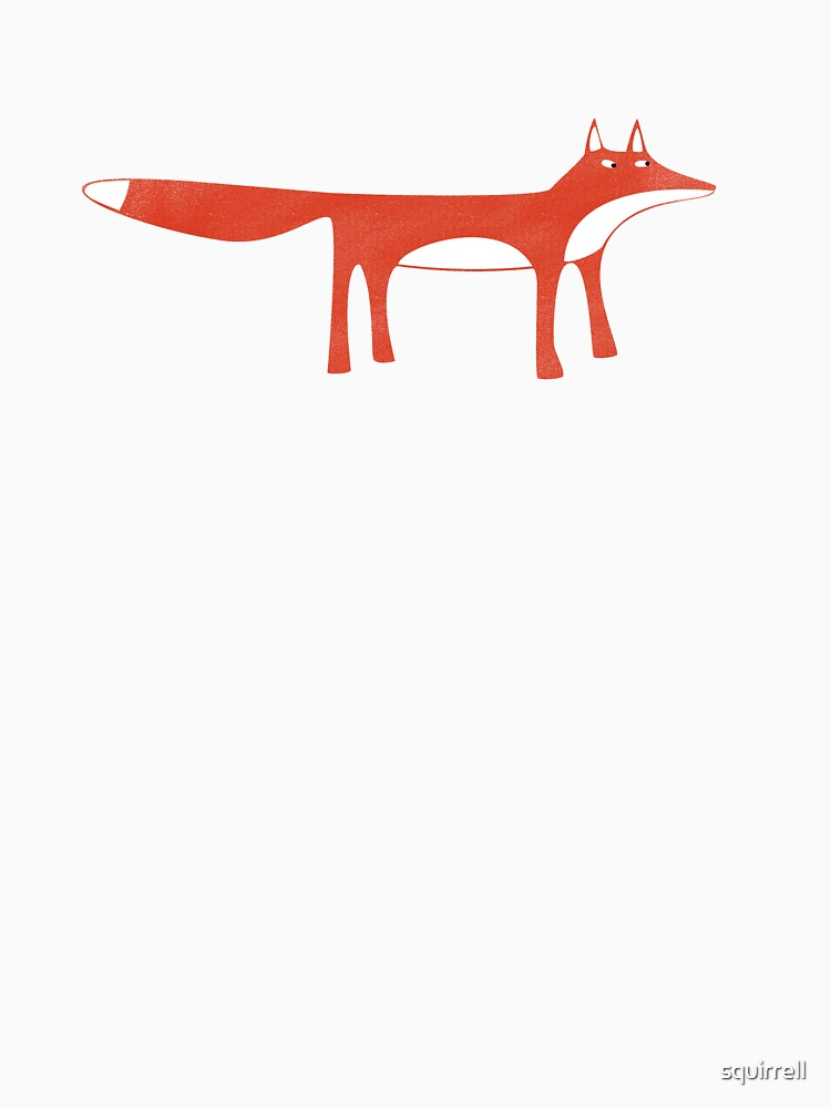 Wild Red Fox by squirrell