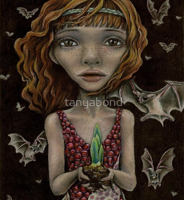 Persephone - the Queen of the Underworld by tanyabond