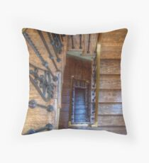 Winding Stairs Throw Pillow