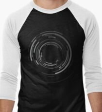 Abstract lens Men's Baseball ¾ T-Shirt