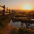 Mam Tor Sunrise by Duncan Payne
