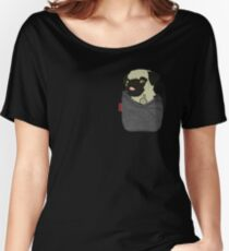 Pug You Pocket Women's Relaxed Fit T-Shirt