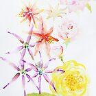Watercolour flowers by JayZ99