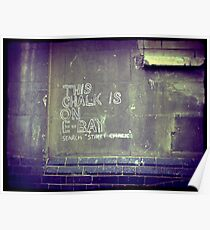 This chalk is on Ebay Poster