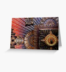 Art-Deco Ceiling Greeting Card