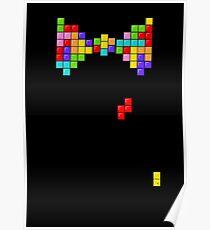 Tetris Papillon Poster