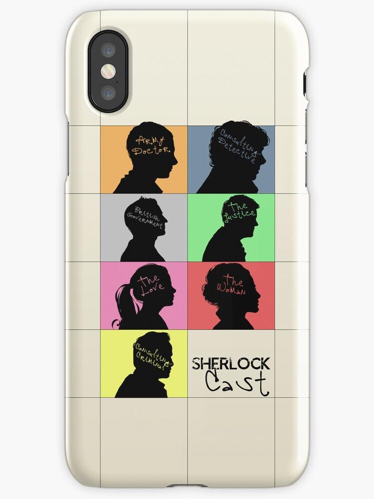 Sherlock - CAST by KanaHyde