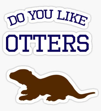Do you like otters? Sticker