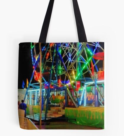 The Carnival Comes To Town Tote Bag