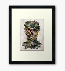 The Gatekeeper Dark Surrealism Art Framed Print
