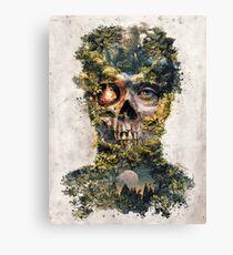 The Gatekeeper Dark Surrealism Art Canvas Print