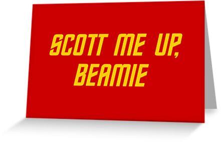 Scott me up, Beamie by grafiskanstalt