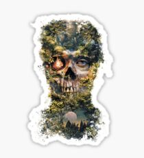 The Gatekeeper Dark Surrealism Art Sticker
