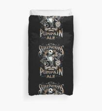 Skellingtons Pumpkin Royal Craft Ale Duvet Cover