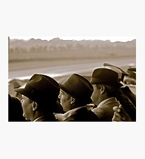 Watching at Goodwood Photographic Print