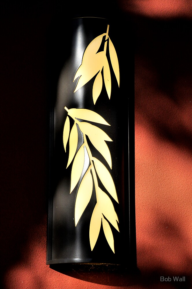 Leaf Lamp by Bob Wall