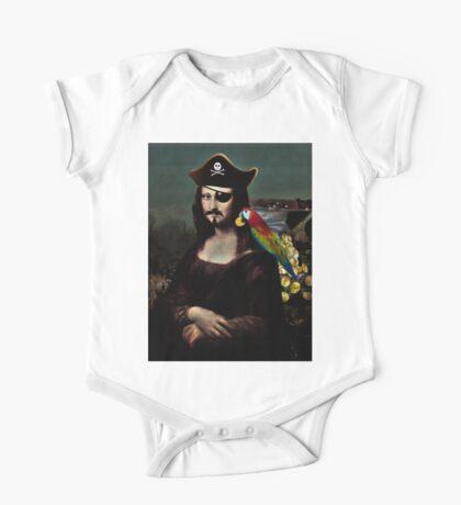Mona Lisa Pirate Captain Kids Clothes