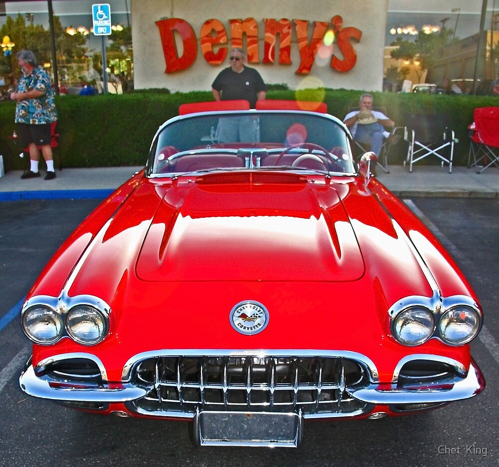 Denny's Car Show by Chet  King