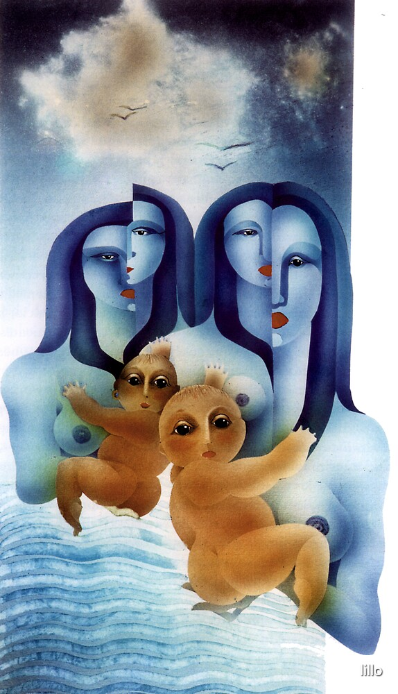 Mother and child by lillo