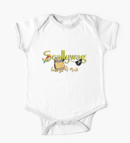 Pirate Talk Text - Scallywag Kids Clothes