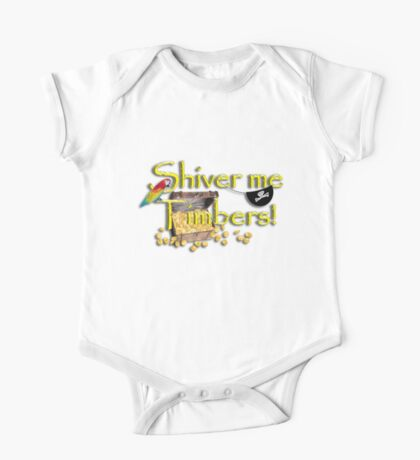 Pirate Talk Text - Shiver Me Timbers Kids Clothes