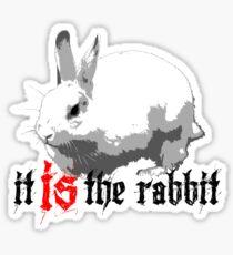 What, behind the rabbit? Sticker