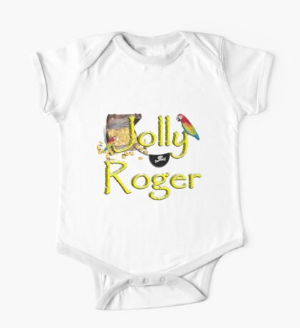 Pirate Talk Text -  Jolly Roger  Kids Clothes