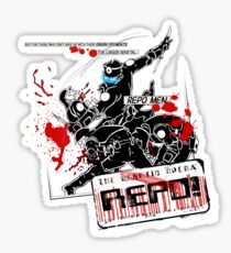 Genetic Repo Man Sticker