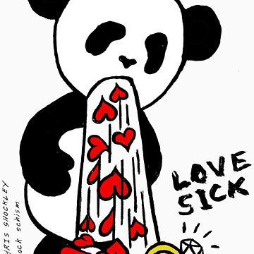 LOVESICK PANDA by shockschism
