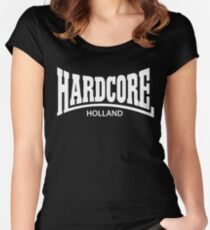 Hardcore Holland Women's Fitted Scoop T-Shirt