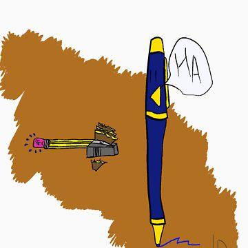 Pen/Pencil  by LesterBear
