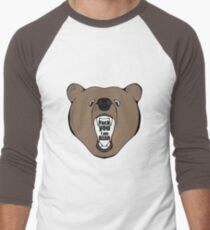 Bears Are Awesome. Men's Baseball ¾ T-Shirt