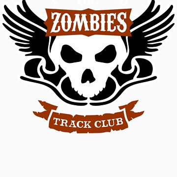 Portland Zombies Track Club Crest (dark) by RobDeBorde