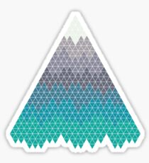 Many Mountains Sticker