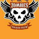 Portland Zombies Track Club Crest (light) by Rob DeBorde