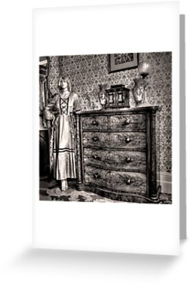 Bedroom cameo ~ Monte Cristo, Junee (NSW) by Rosalie Dale