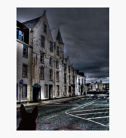 The Haunted Hotel, Oban, Scotland..............! Photographic Print
